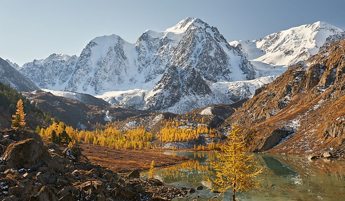 Where Are the Altai Mountains?
