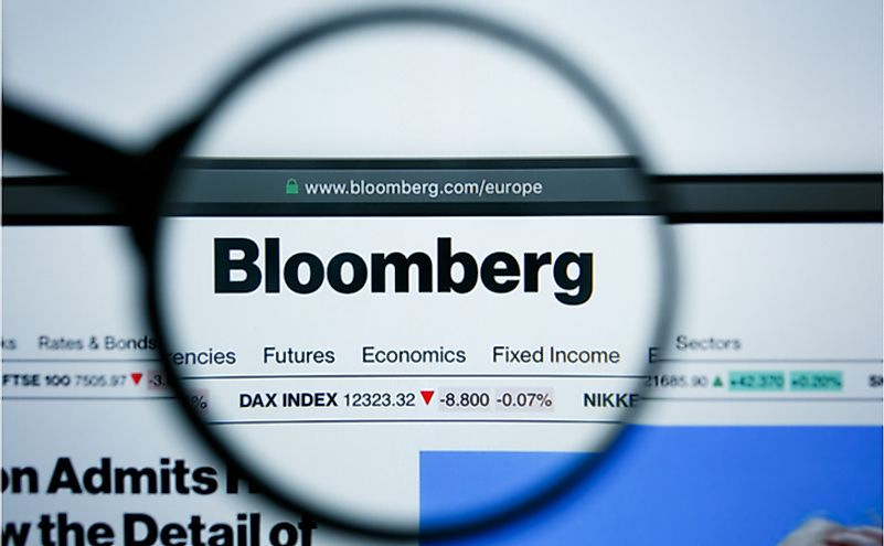 Where Is The Headquarters Of Bloomberg L.P.?