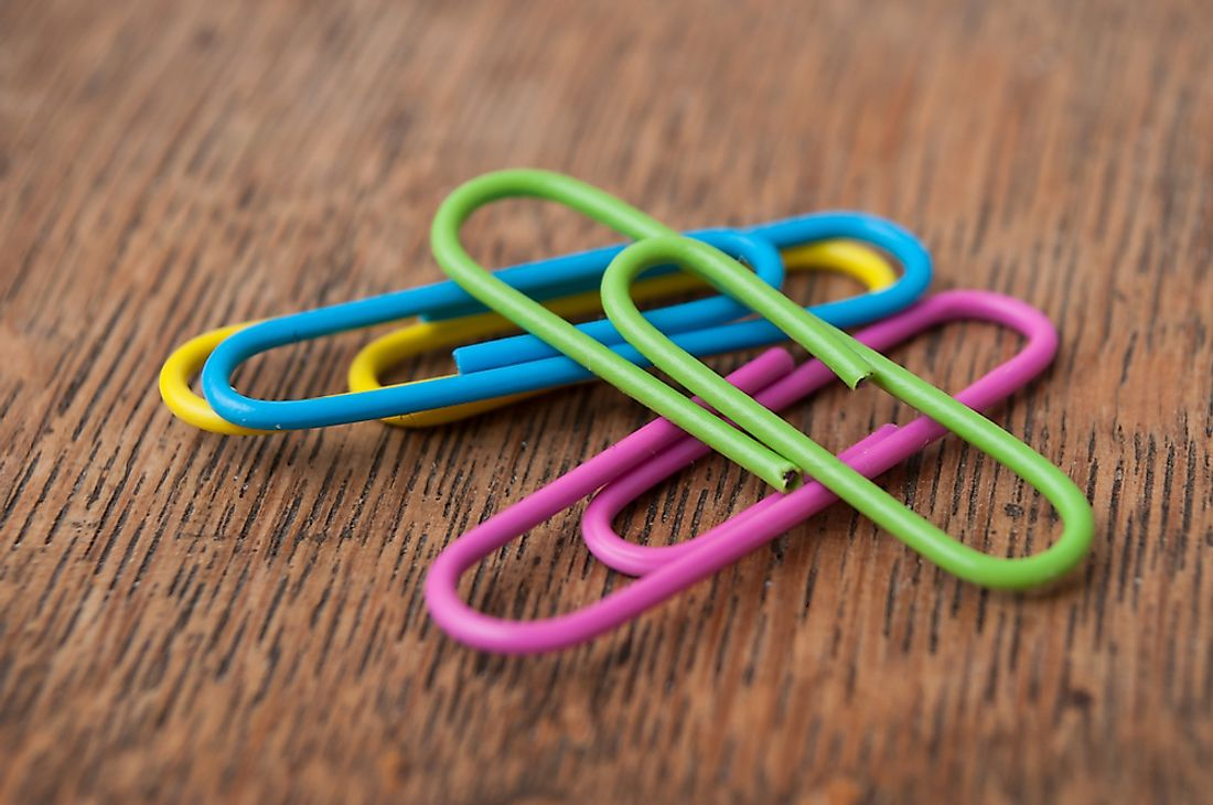 Who Invented the Paperclip?