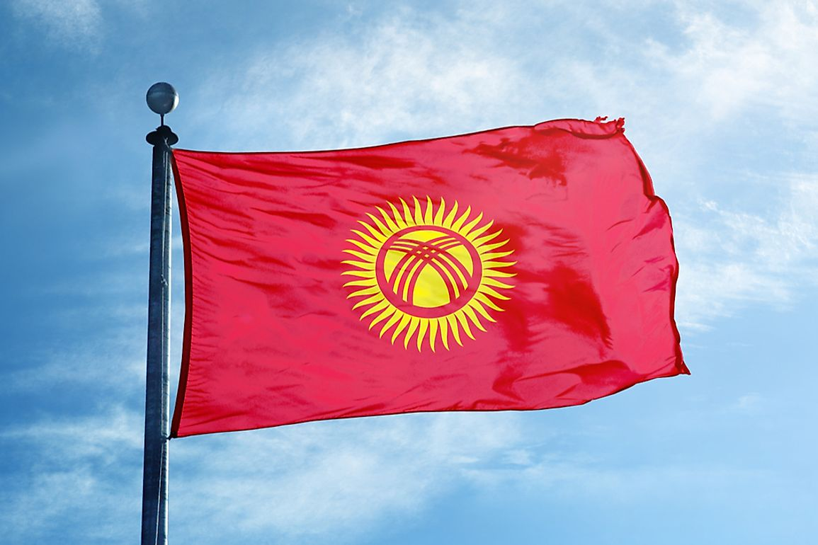 What Do The Colors And Symbols Of The Flag Of Kyrgyzstan Mean?