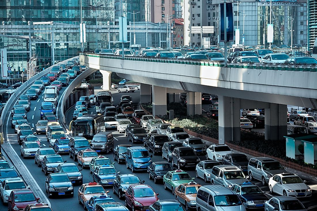 10 Cities With the Most Congested Commutes