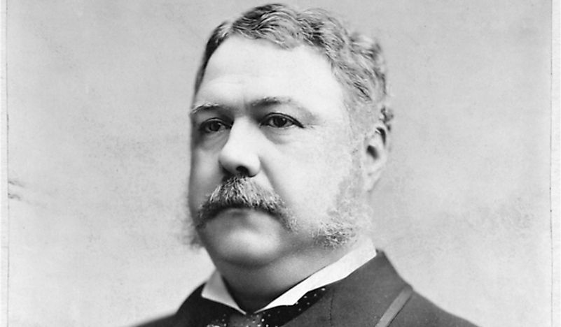 Chester A. Arthur – the 21st President of the United States