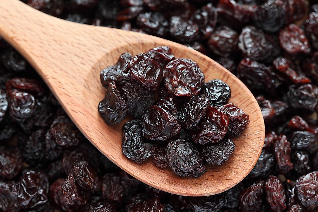 Top Raisin Producing Countries