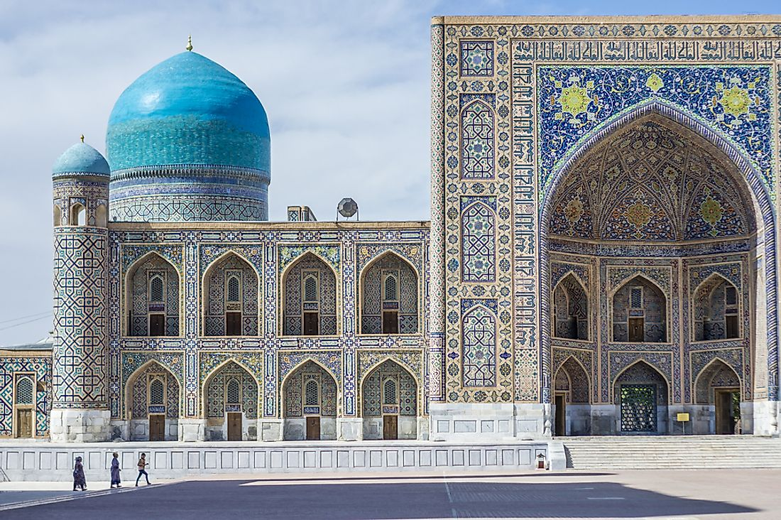 Central Asia's Major Cultural And Economic Hubs