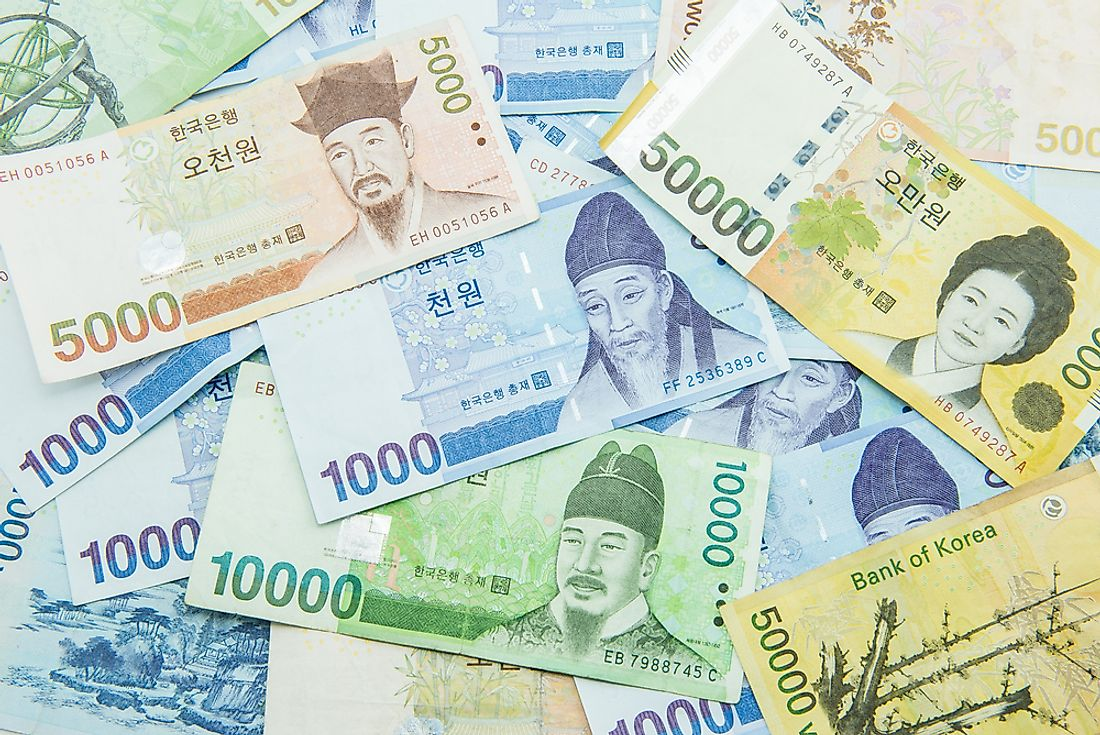 What is the Currency of South Korea?