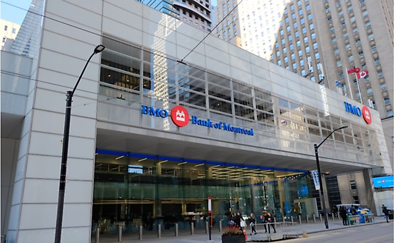 Where Is The Bank Of Montreal Headquartered?