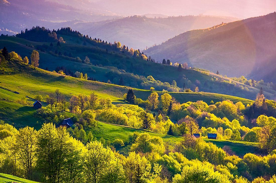 The Most Breathtaking Landscapes Of Ukraine Worldatlas Com