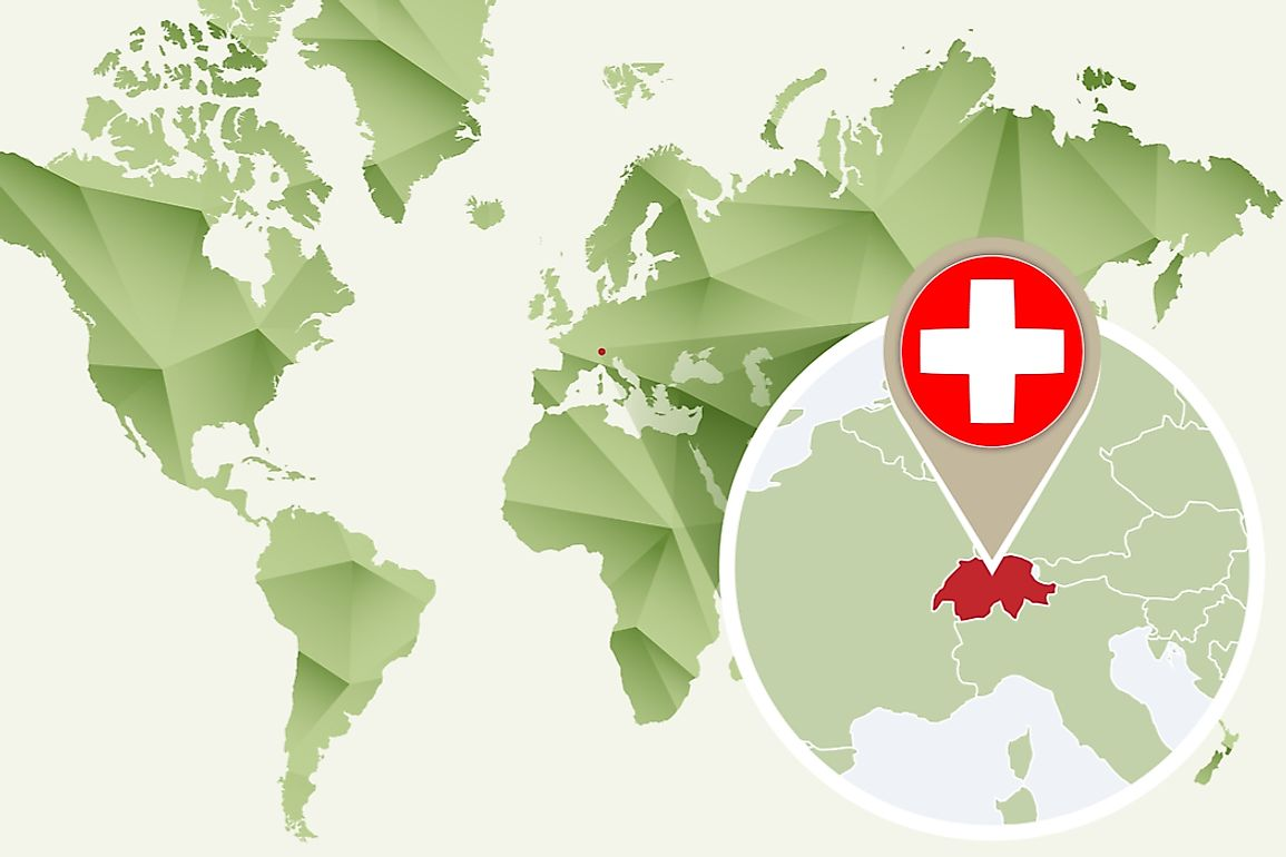 What Continent Is Switzerland In? - WorldAtlas.com