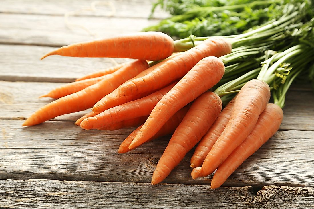 The World's Top Carrot Producing Countries