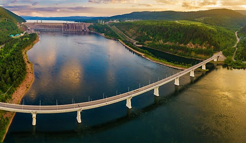 What Is The Origin Of The Yenisei River?