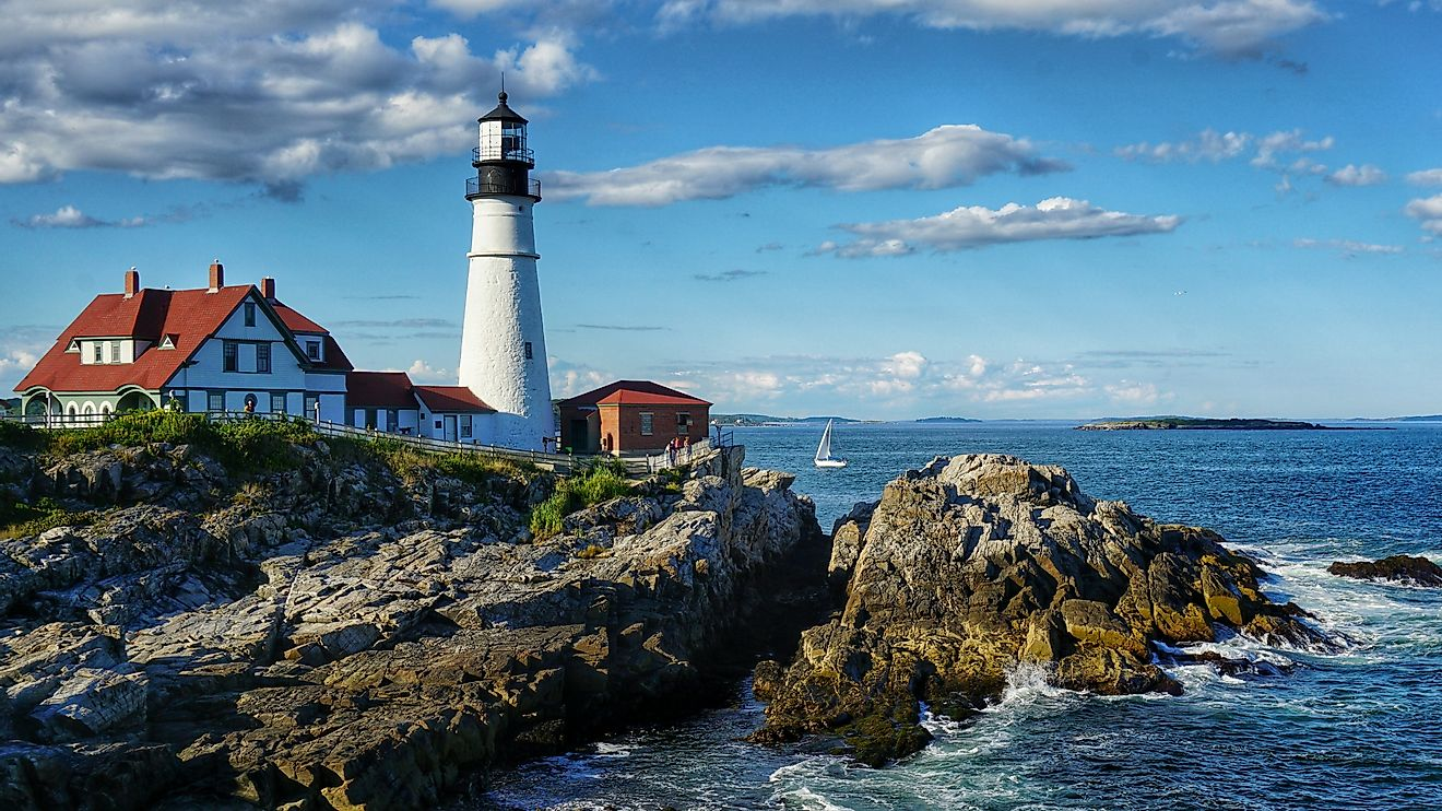 Portland Head Light, Maine - Unique Landmarks around the World