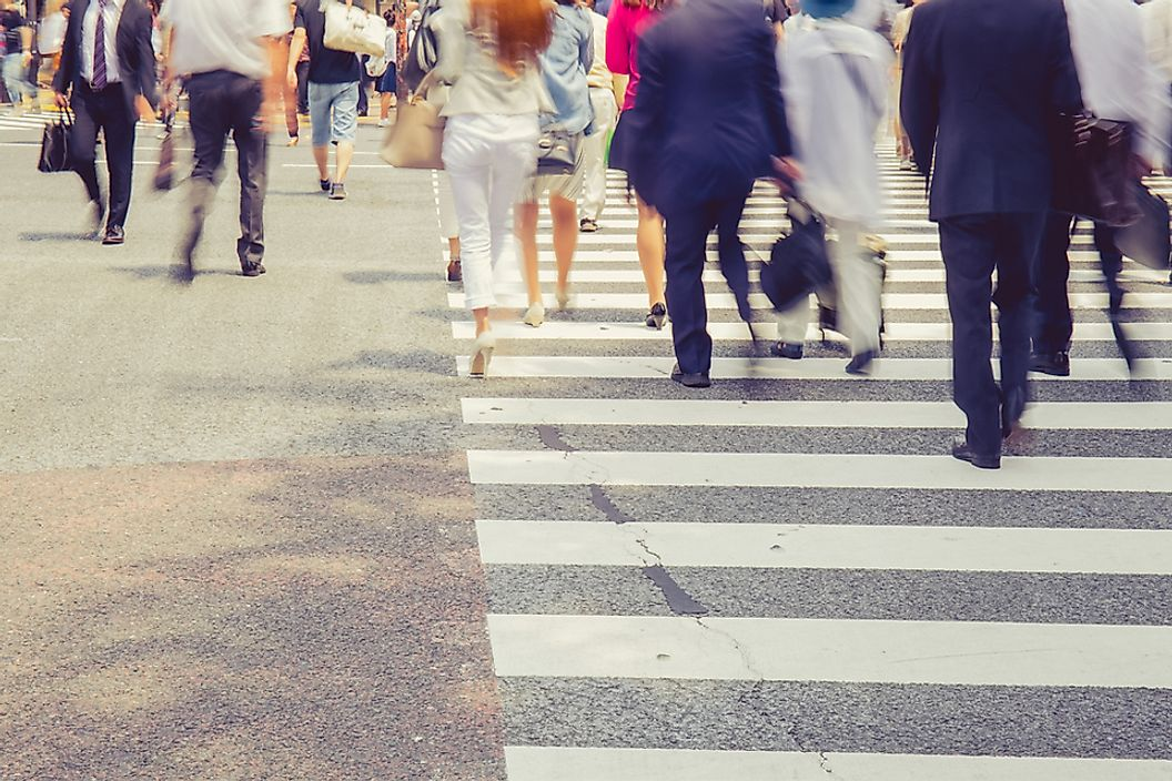 US Cities with the Most Pedestrian Commuters