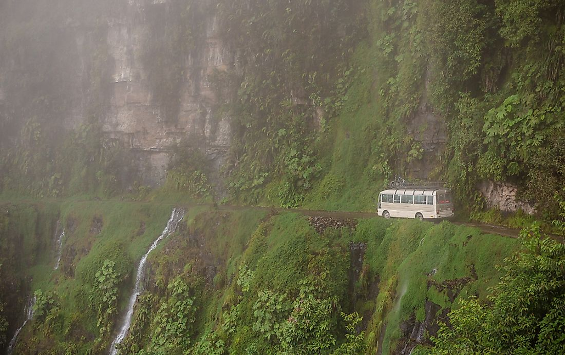 North Yungas Road – the Most Dangerous Road in the World