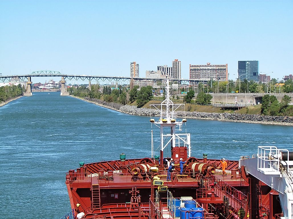 What is the Saint Lawrence Seaway?
