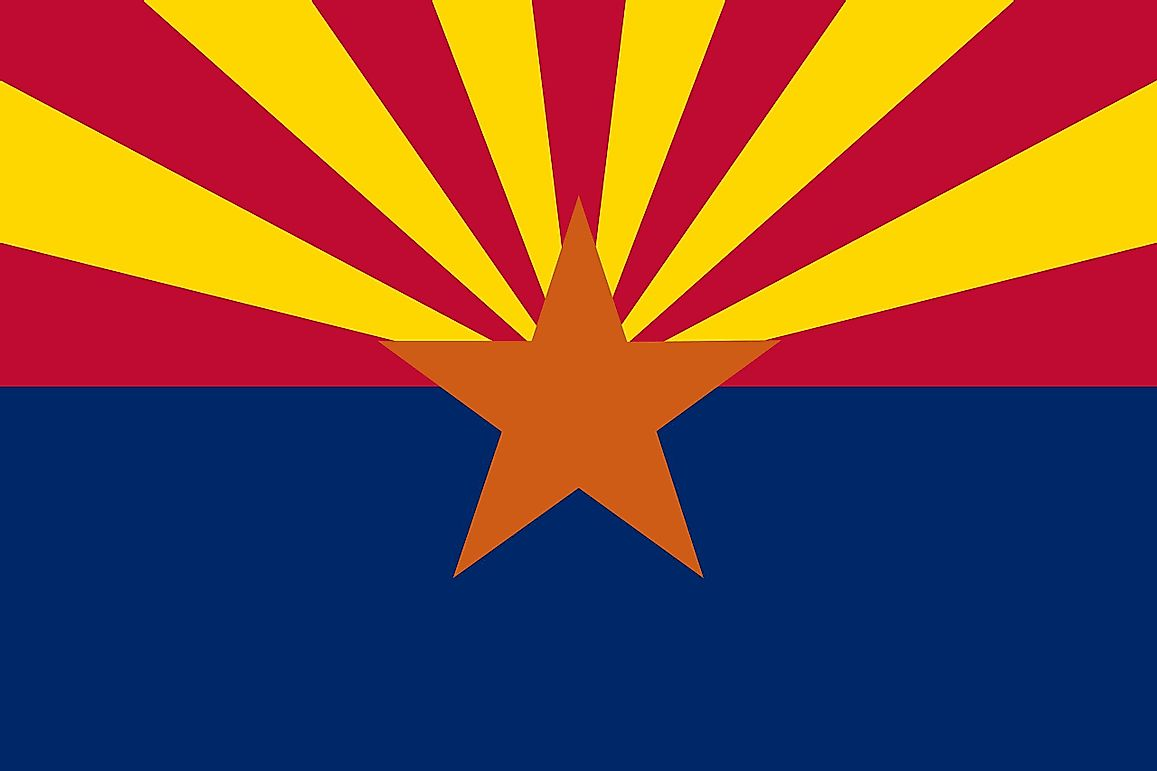 What is the Arizona State Flag?