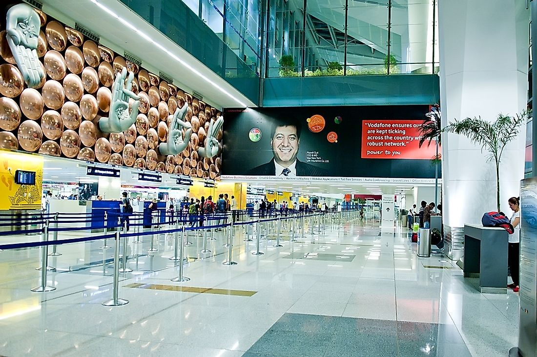 The Busiest Airports In India