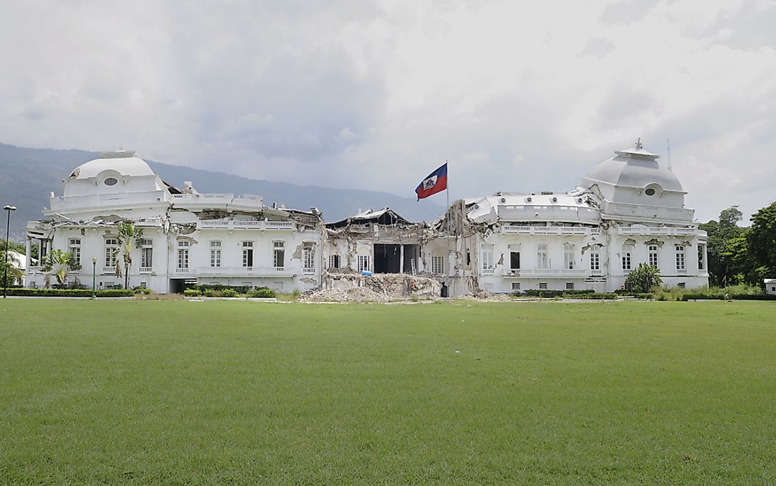 Where Does The President Of Haiti Live?