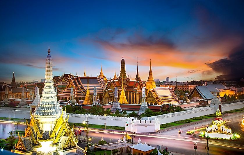 Major Religions in Thailand
