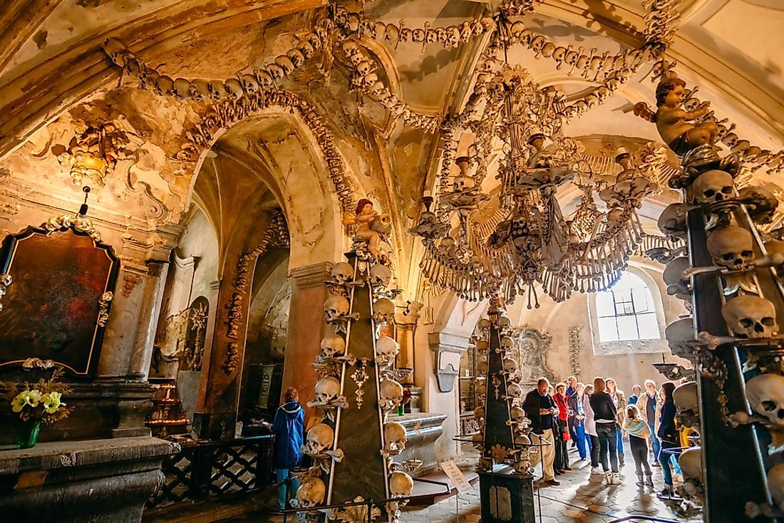 Sedlec Ossuary Of The Czech Republic