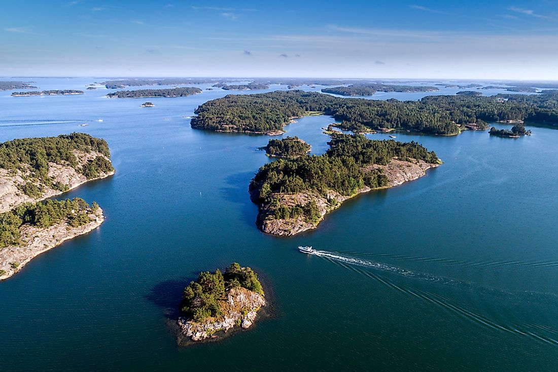 How Did the Archipelago Sea Get Its Name?