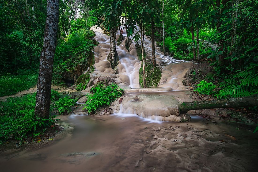 What Is So Unique About The Bua Tong Sticky Waterfalls Of Thailand?