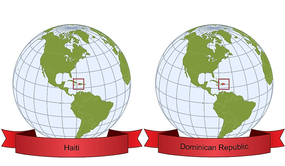 Which Countries Make Up the Island of Hispaniola?