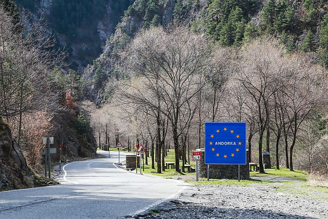 Which Countries Border Andorra?