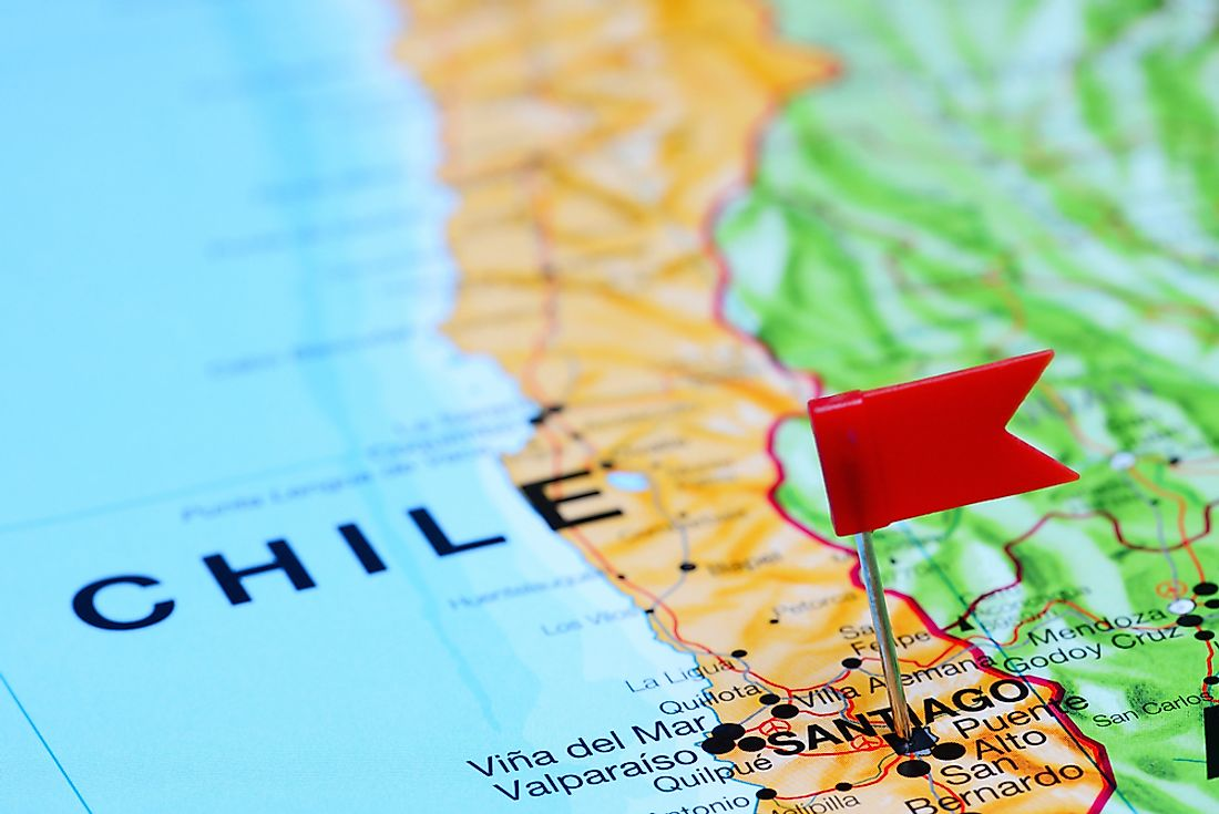 Which Countries Border Chile?