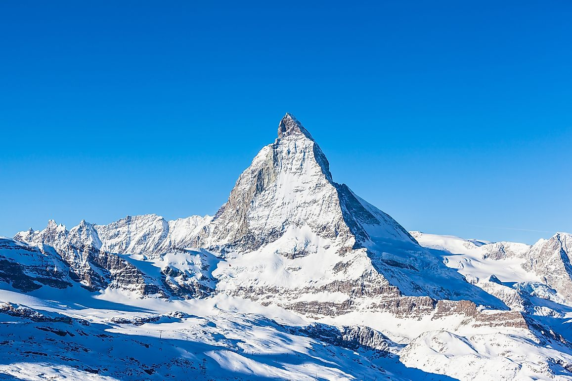 Highest Mountains In Switzerland
