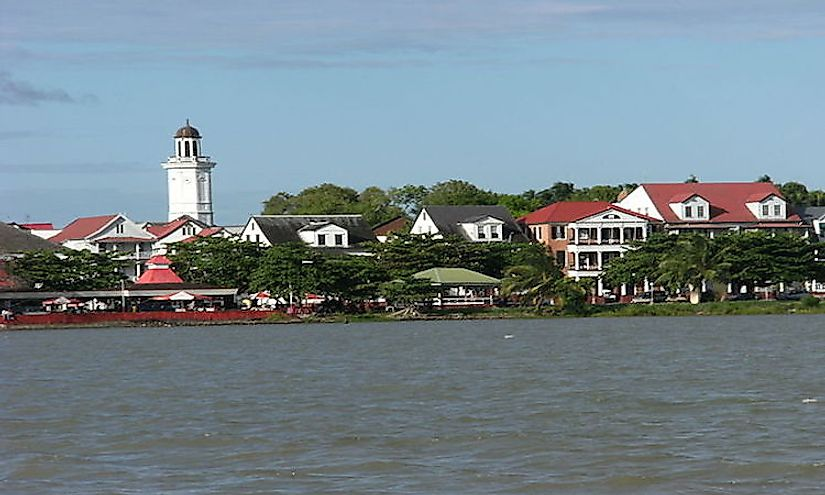 The Largest Cities In Suriname