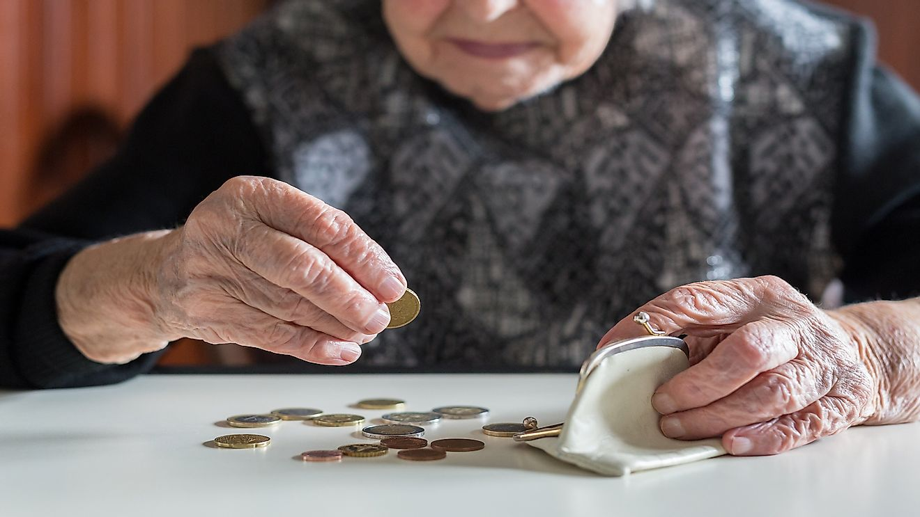10 European Countries Where Pensioners Are Most Threatened By Poverty