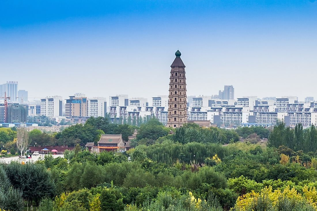 Yinchuan – The Capital Of The Ningxia Hui Autonomous Region