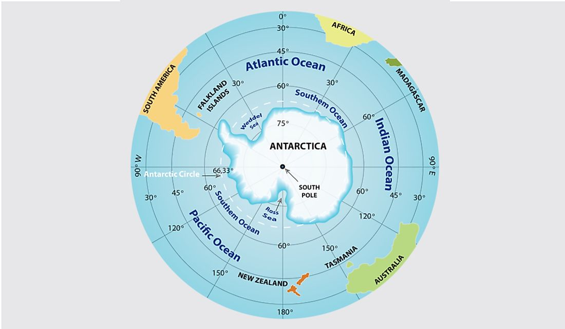Which Hemisphere Has The Largest Area Covered By Oceans?