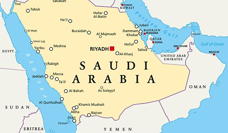Is Saudi Arabia in the Middle East?