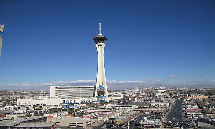 Tallest Buildings In Las Vegas