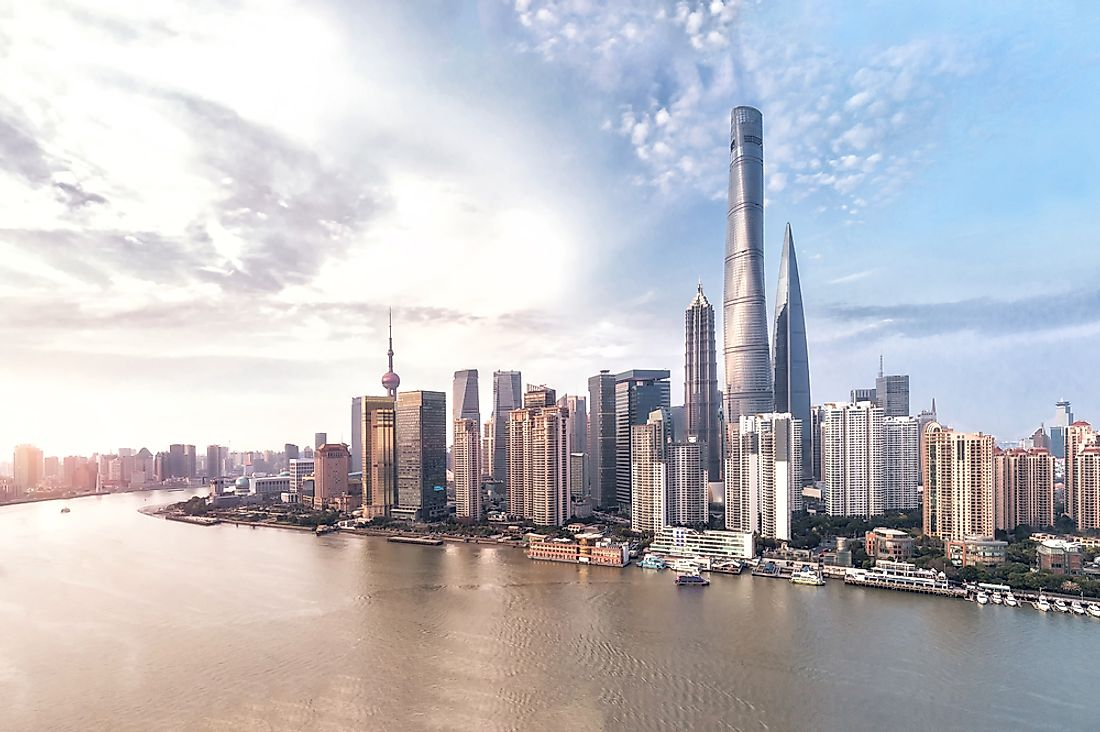 The Tallest Buildings in China