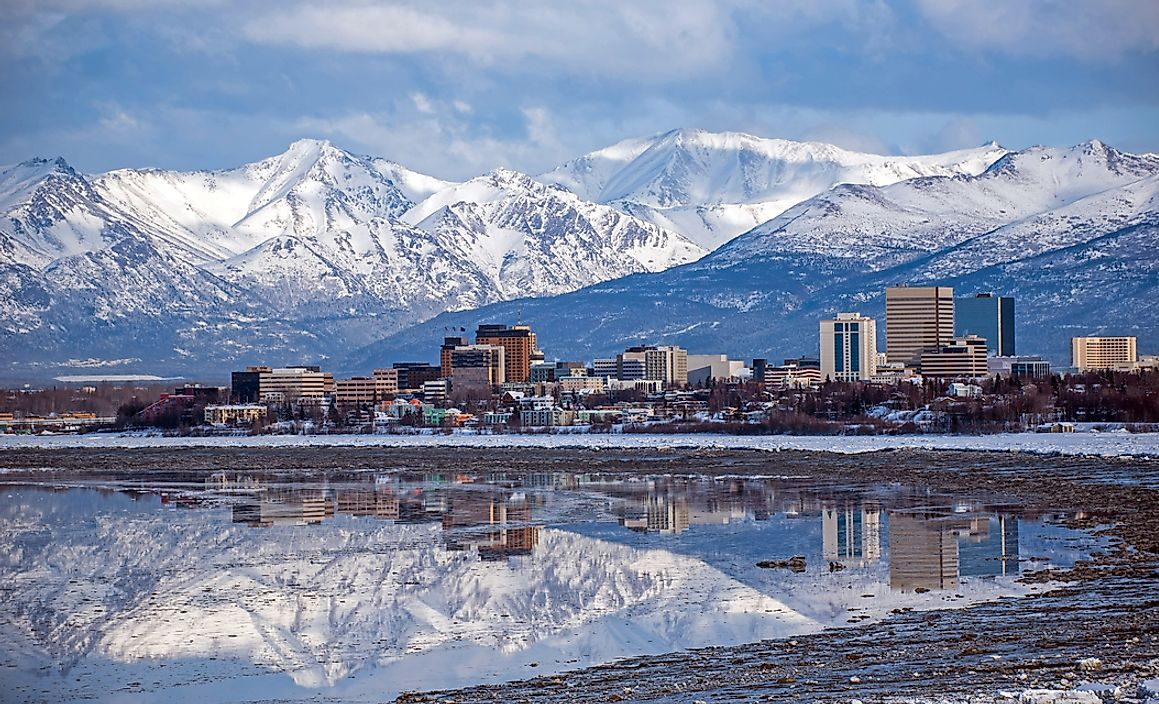 The Most Populated Cities in Alaska