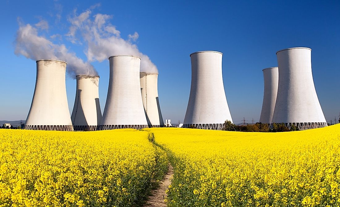 Countries With the Most Nuclear Power Plants