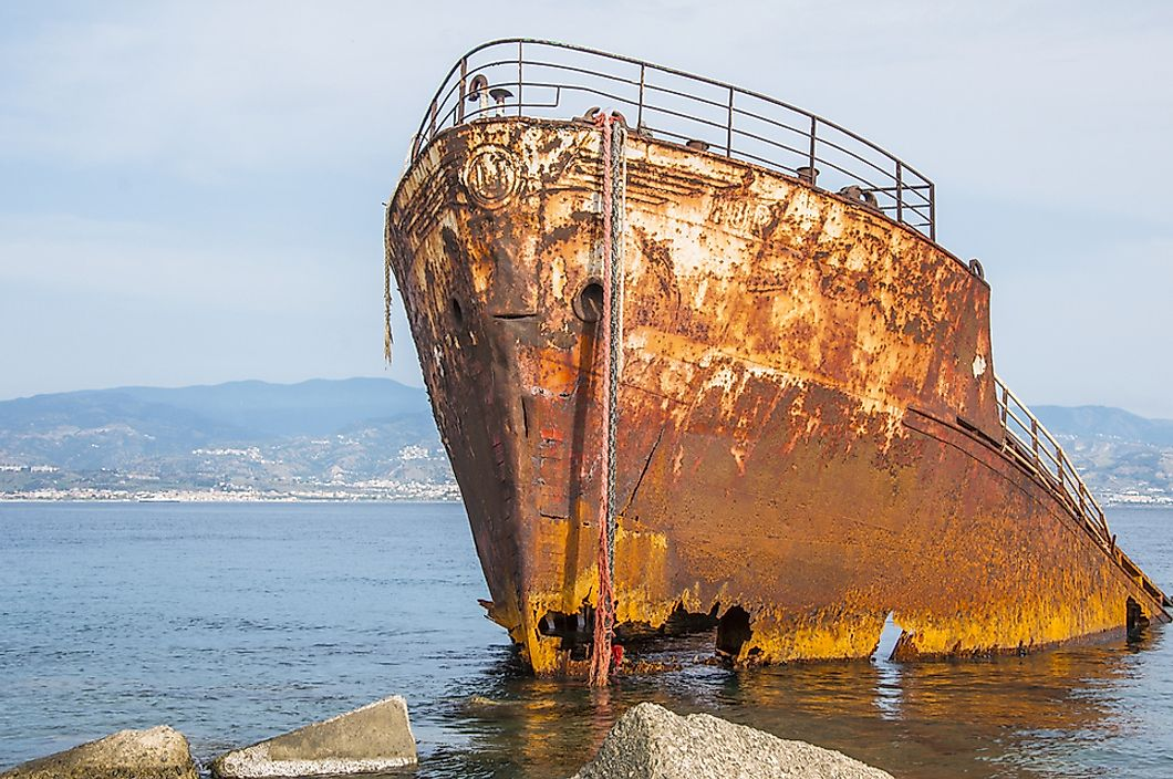 The Most Infamous Places for Shipwrecks in Recent Times