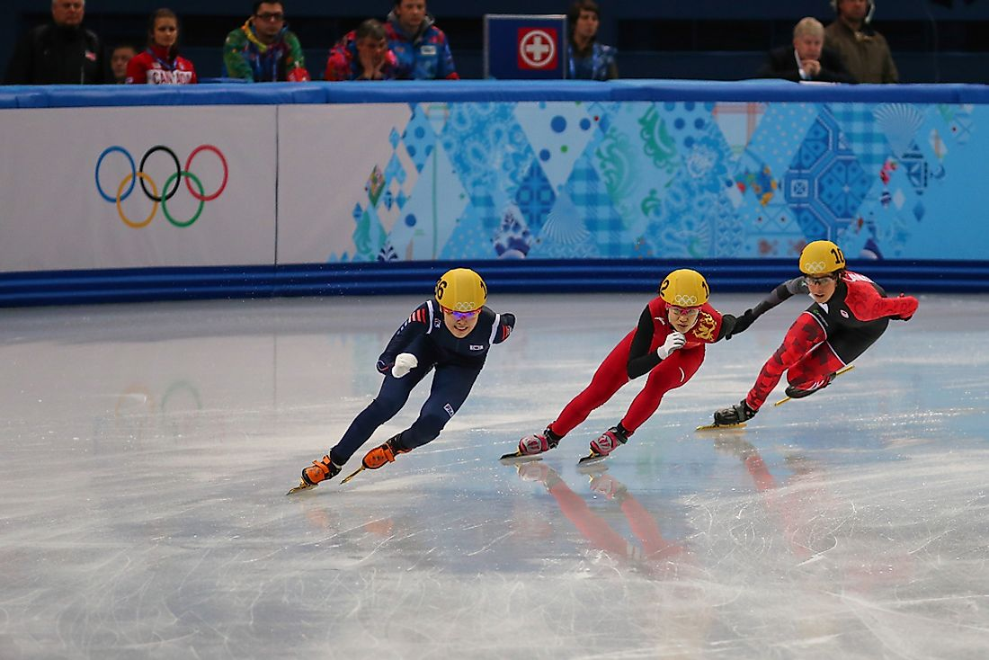 Winter Olympic Games: Speed Skating