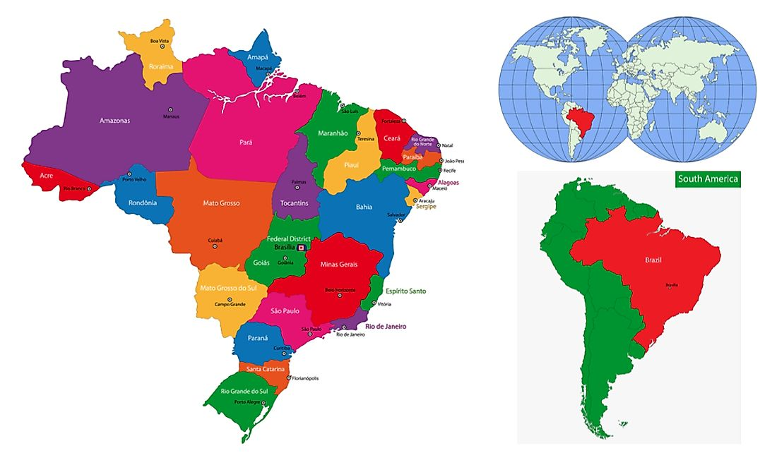 How Many Brazilian States Are There?
