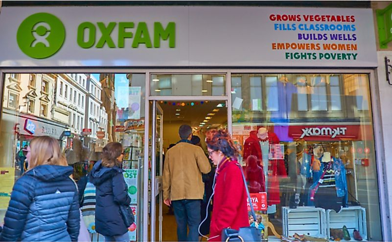 Where Is The Headquarters Of Oxfam?