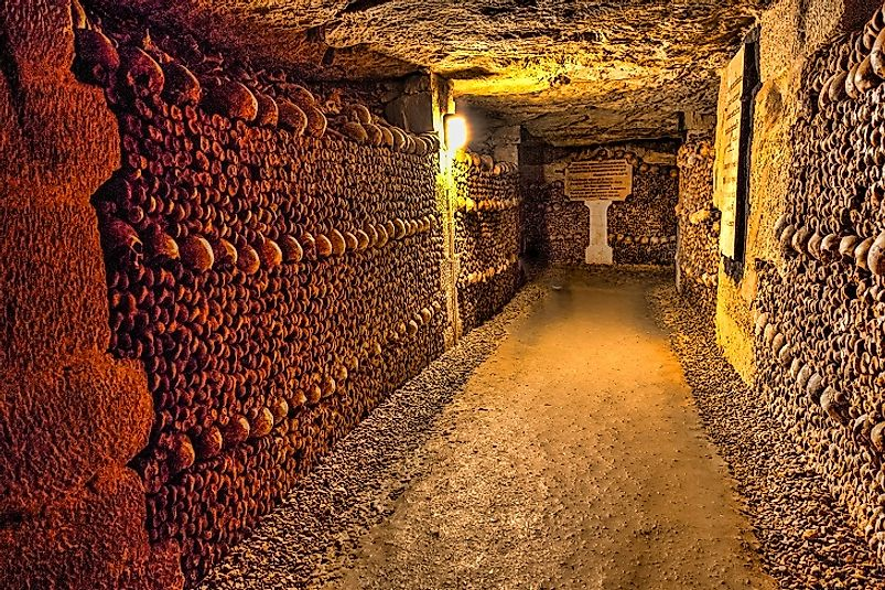 Catacombs of Paris - Subterranean Boneyard Of France