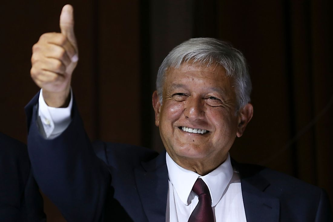 List of Mexican Presidents