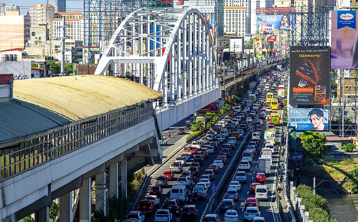 The 10 Most Congested Asian Cities