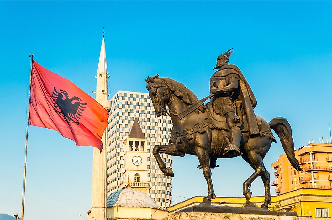What Do the Colors and Symbols of the Flag of Albania Mean?
