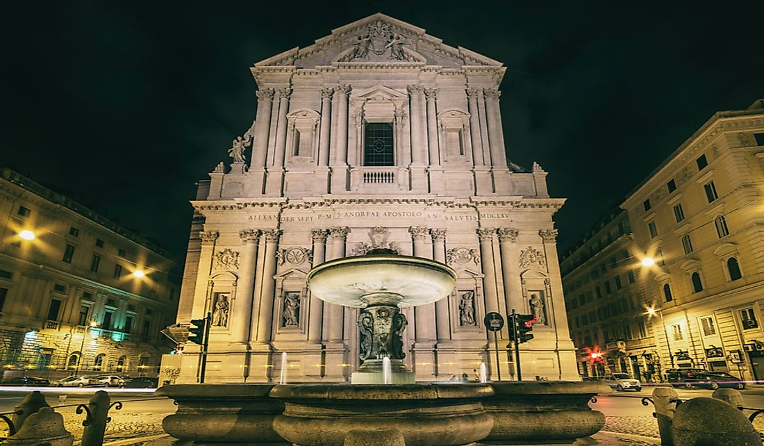 Architectural Buildings of the World: Sant'Andrea della Valle