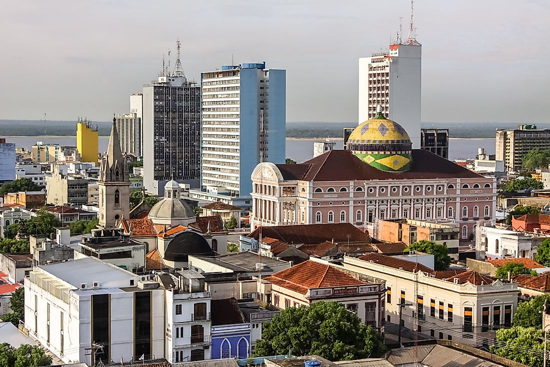 Manaus – the Capital of Amazonas, Brazil