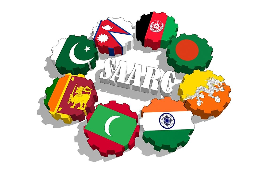 Which Countries Are Members Of SAARC?