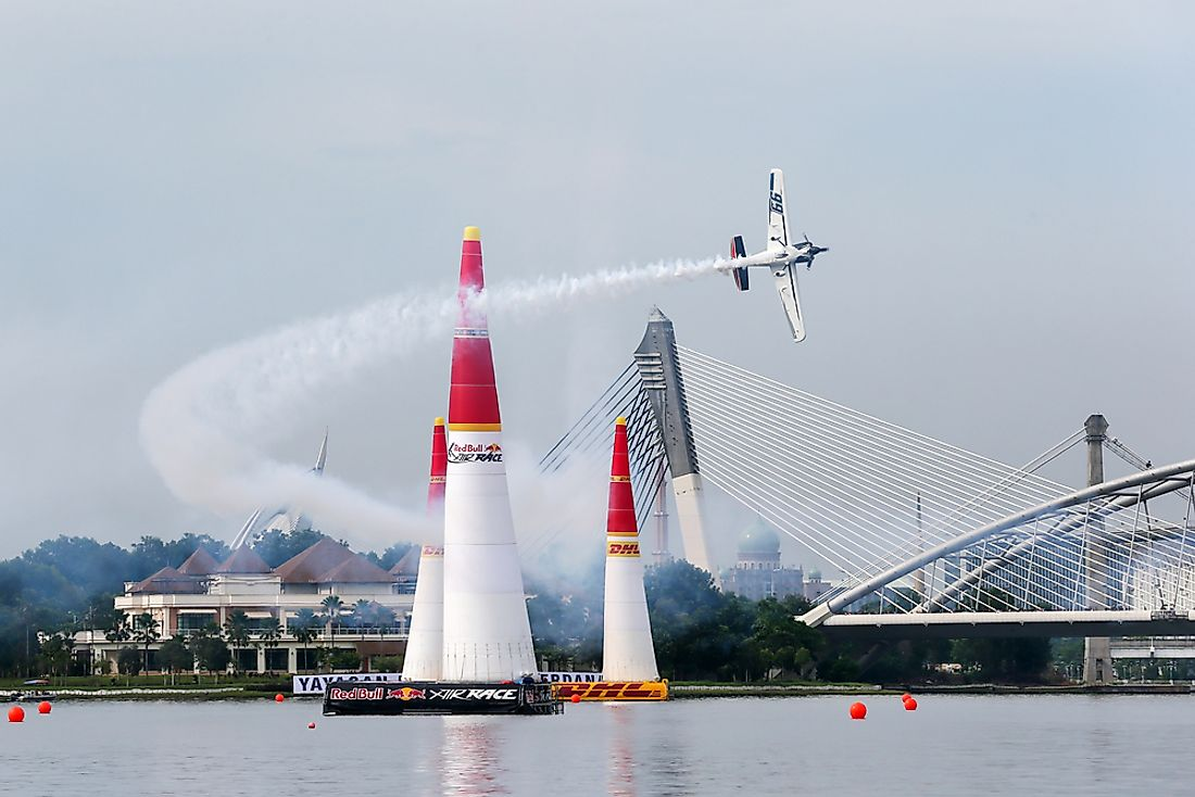 Top Performing Countries at the Red Bull Air Race